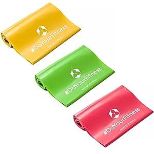 3er-Set Fitnessbänder »Lavana« / Sportband, Trainingsband in den Farben und...