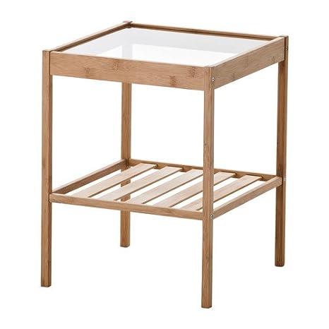 Ikea Nesna - Mesita de Noche - 36x35 cm: Amazon.es: Hogar