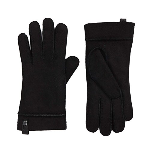 UGG Sheepskin Tenney Glove Women | Black (16272) (L)