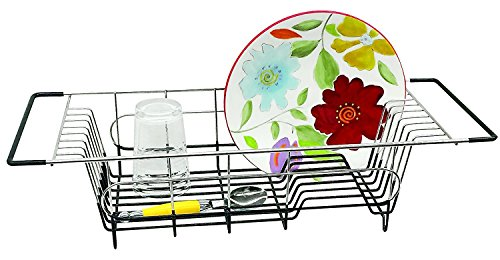 Sink Dish Rack - Better Houseware Over Sink Dish Drainer, 19.25 x 8.25 x 4.5