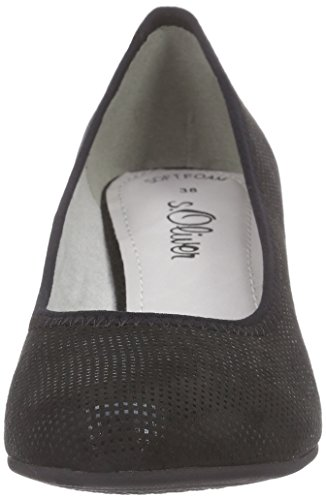 s.Oliver 22417 - Tacones Mujer Negro - negro