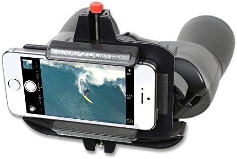 Adaptador universal digiscoping Snapzoom para iPhone Android y ...