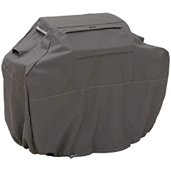Classic Accessories Ravenna Grill Cover - Premium BBQ Cover with Reinforced Fade-Resistant Fabric, 3X-Large, 80-Inch