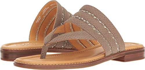 Sperry Top-Sider Gold Cup Abbey Anne Sandal Women 5.5 Greige