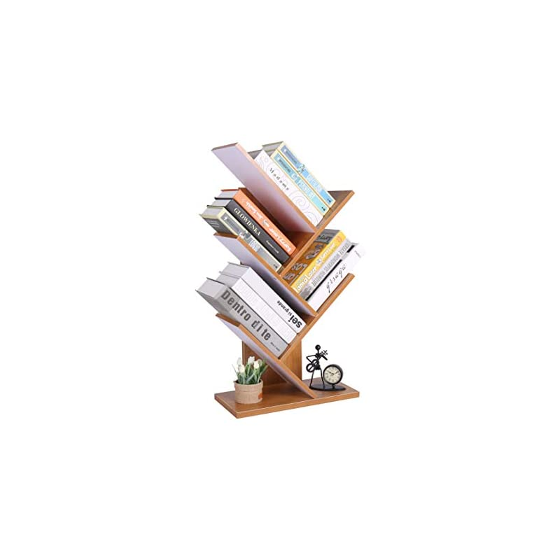 Homebi 5-Shelf Bookshelf Tree Bookcase W