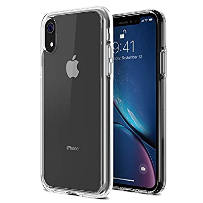 "iPhone XR Case, Trianium Clarium Case Compatible Apple iPhone XR (2018)[6.1"" ONLY] TPU Cushion Protection and Hybrid Rigid Clear Back Cover [ Work w/Most Screen Protector]"
