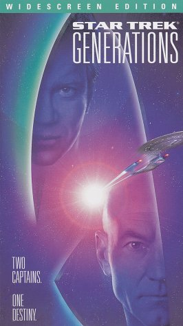 Star Trek Generations (Widescreen Edition) [VHS]