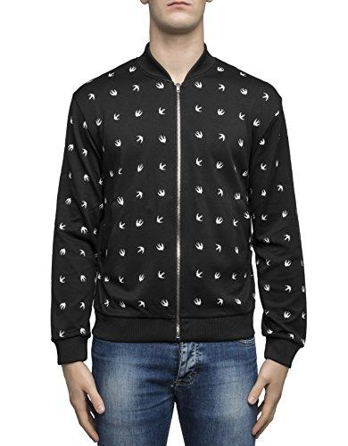 mcq-alexander-mcqueen-mens-449237rjr381000-black-polyamide-outerwear-jacket
