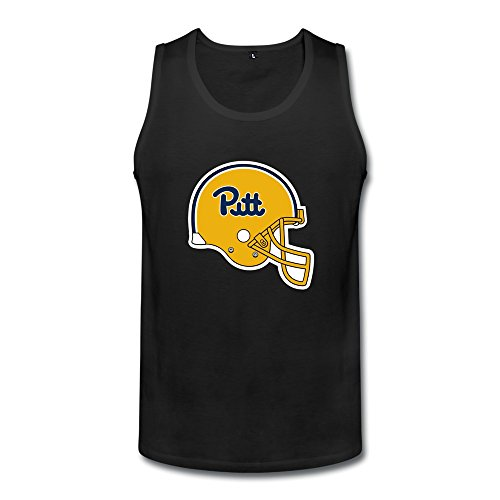 SALA Men's Pittsburgh Panthers Helmet Logo Tank Top XXL Black (Loki Helmet For Sale)