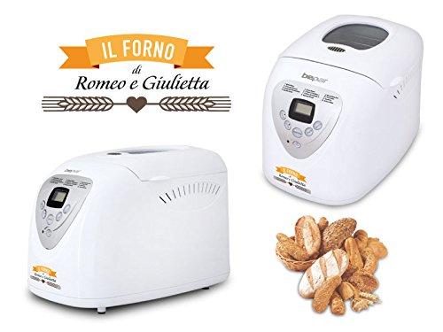 Beper 90.493 A - Máquina para el pan - 12 programas de cocción: Amazon.es: Hogar