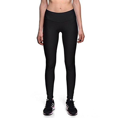 Pantalon De Yoga Imprimé Numérique Noir Taille Haute Dames Minceur Souple Leggings Collant De Fitness Super élastique