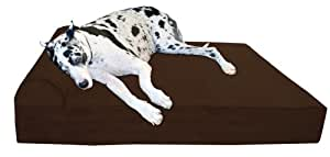 Amazoncom big barker 7quot orthopedic dog bed with pillow for Big barker dog beds amazon