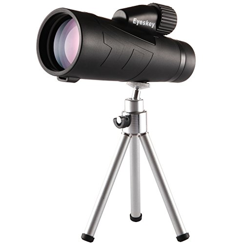 Monocular Telescope, 12x50 Monocular with Cellphone Adapter,