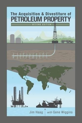 The Acquisition   Divestiture Of Petroleum Property