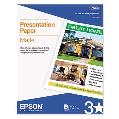 EPSS041062 - Epson Matte Presentation Paper -