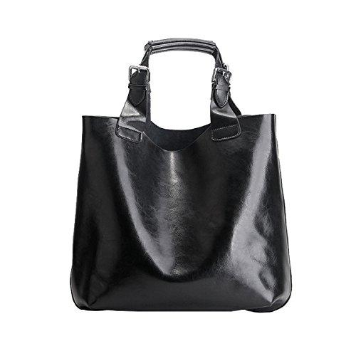 811 épaule Sac fashion main cuir portés Noir Sac à LF Sac main E en Girl femme portés qpEOW7