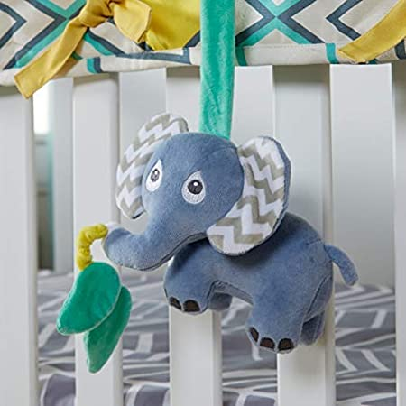 Babee Talk Elephant Stroller and Car Seat Baby Toy Eco Buds Organic Crib