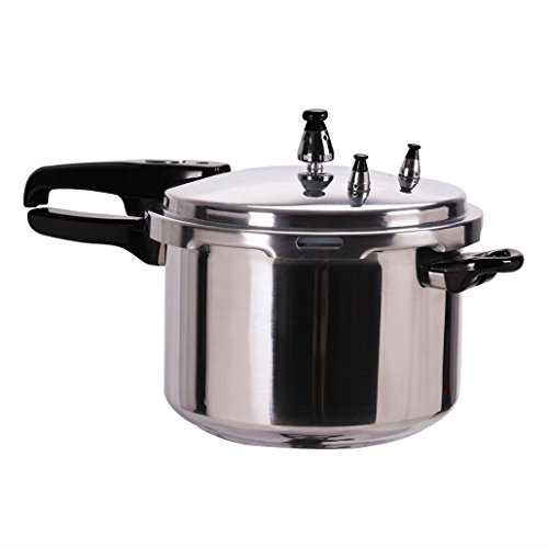 New 6-Quart Aluminum Pressure Cooker Fast Cooker Canner Pot Kitchen from Unknown