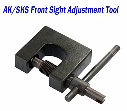 AIM Sports Sk/SKS Front Sight Adjustment Tool (Black, Small) Lifetime  Warranty & Free Shipping