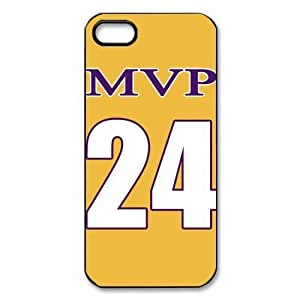 NBA MVP NO.24 Jersey Golden Hard Plastic Cover Case For Iphone 6 Plus 5.5 Inch Cover