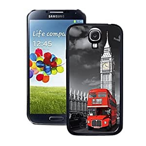 JOE Blazing Colour Red Bus Pattern 3D Effect Hard Case for Samsung Galaxy S4 i9500