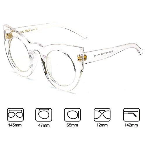 hibote soleil Rond Femme de Lunettes de C7 UV400 Glasses chat Oeil Sun Vintage rqrXT