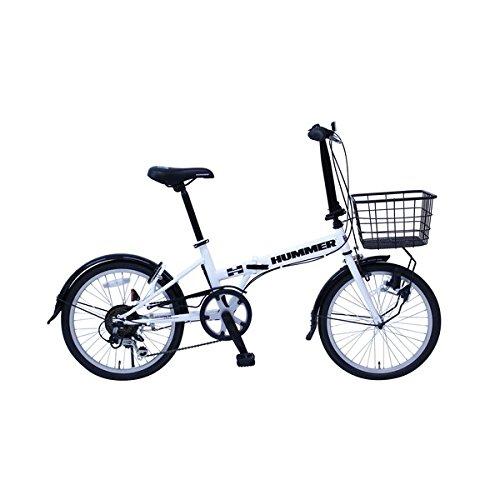 折畳み自転車 HUMMER FDB206SF MG-HM206F-RL【代引不可】 生活用品 インテリア 雑貨 自転車(シティーサイクル) 折り畳み自転車 top1-ds-1998694-ak [簡易パッケージ品] B0791CHWFM