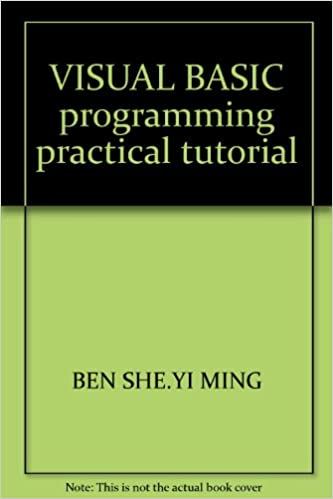 Visual Basic Tutorial Pdf For Beginners