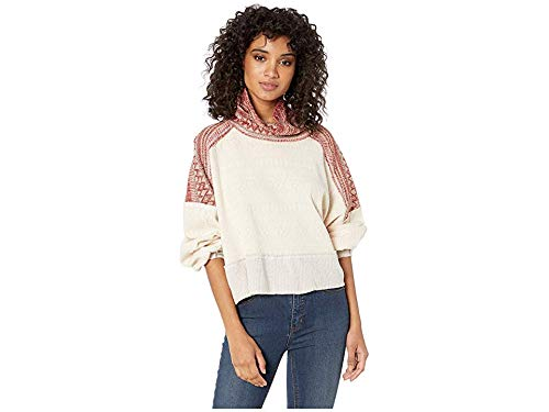 Free People Women's at The Lodge Tee Ivory Large from Free People