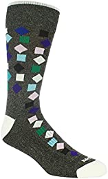 Low Price Men Gelding Mixed Geo Dress Sock Moisture Wicking Arch Support Comfortable Fashionable
