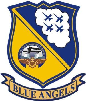 US Navy Blue Angels Decal Sticker -