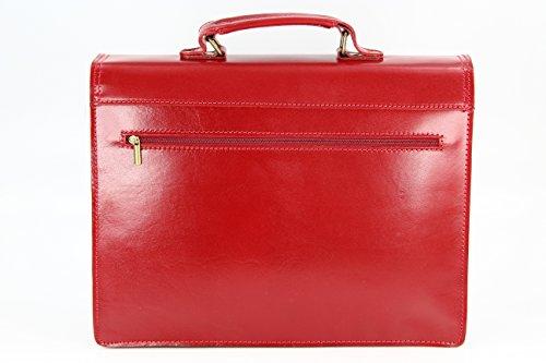 Rouge sac Belli à femme main nARxz0Uv