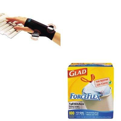 kitcox70427imaa20126-value-kit-imak-products-smartglove-wrist-wrap-imaa20126-and-glad-forceflex-tall