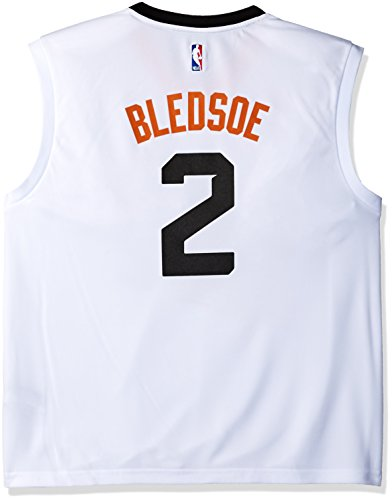 NBA Men's Phoenix Suns Eric Bledsoe Replica Player Home Jersey, Large, White