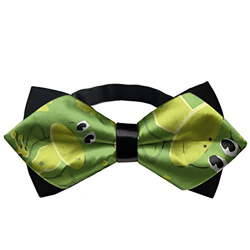 YEAHSPACE Cute Frog Gift Mens Pre-tie Double Layers Party Bow ties
