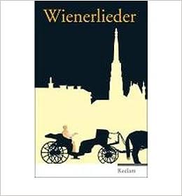 Wienerlieder Von Raimund Bis Georg Kreisler Hardbackgerman