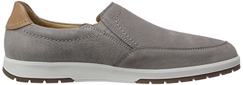 Mephisto LEO SPORTBUCK 1905/MANO 3535 Herren Slipper Grau (Light Grey)