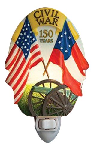 Civil War - 150 Year Anniversary Night Light - Ibis & Orchid Designs Flowers of Light Collection