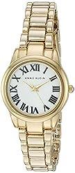 Anne Klein Women's AK/2266MPGB Gold-Tone Bracelet Watch