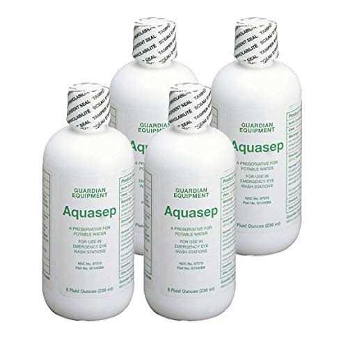 Guardian G1540BA AquaGuard Bacteriostatic Additive (8 oz.) (4 Pack) by Guardian