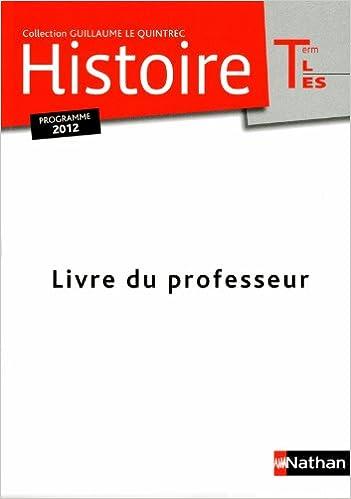 Téléchargement Histoire Term L-ES - Le Quintrec epub, pdf