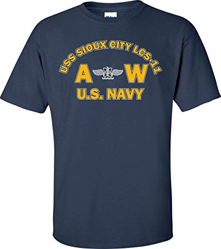 USS Sioux City LCS-11 Rate AW Aviation Antisubmarine War Operator T-Shirt