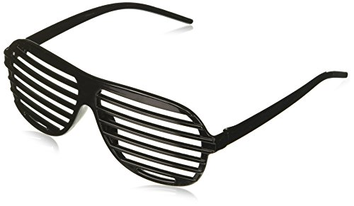 Forum Novelties Men's Slotted Glasses Costume Accessory in Black