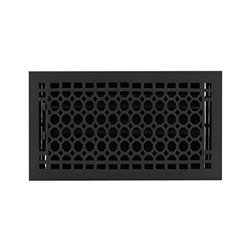 6 x 12 cast iron floor register - 9