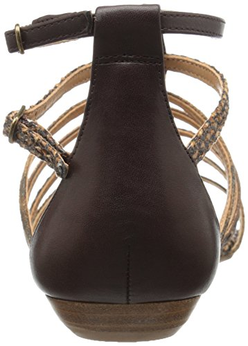 Dress Cognac Nine Sintetico Multi West Sandal Aboutthat AHHg7txqwc