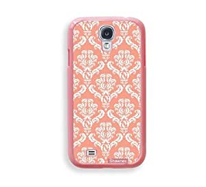 Shawnex Coral Damask ThinShell Protective Pink Plastic Samsung Galaxy S4 Case - Galaxy i9500 Case Snap On Case
