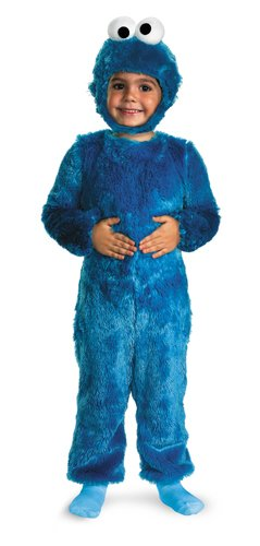 Cookie Monster Comfy Fur Costume - Large (Cookie Halloween Costume)