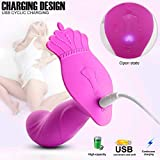 Queen Crown Portable Wireless Remote Wearable Viberate - Strongest Attractive ♥Lesbian Therapeutic Muti Speed Vibrating Electric Elegant Modes Štimulator Massager Waterproof Neck Shoulder Dress