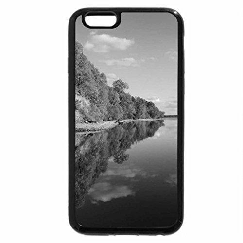 iPhone 6S Plus Case, iPhone 6 Plus Case (Black & White) - Autumn Days