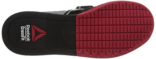 Reebok Men's R Crossfit Lifter 2.0 Training Shoe, Black/Flat Grey/Excellent Red, 13 M US by Reebok (Image #3)